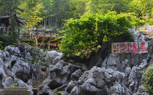 宜兴农家乐网 旅游景点  陶祖圣境风景区建筑风格尽显古汉韵味,整个